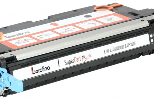 berolina SuperCart Color para Hewlett Packard Color LaserJet CP3505