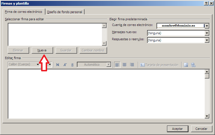 Firma email Outlook 2007 (1)